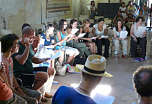 Tina May International Vocal Course, Tuscany 2015